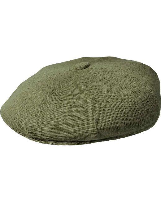 e499e71437c Lyst - Kangol Bamboo Galaxy Newsboy Cap in Green for Men