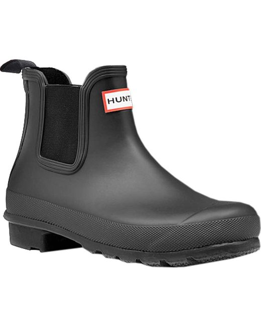 Hunter - Black Original Chelsea Boot - Lyst