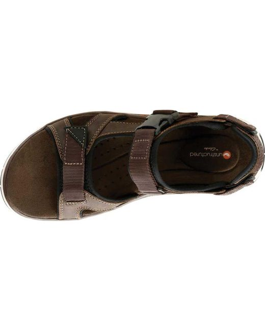 a8418a819b5 ... Clarks - Multicolor Un Trek Bar Active Sandal for Men - Lyst ...
