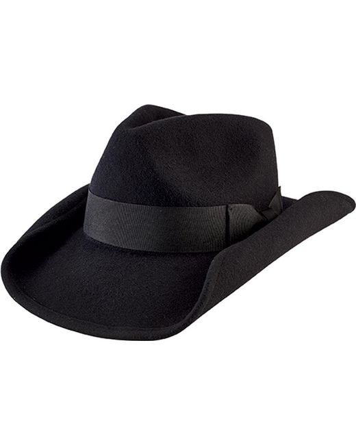 c877836fbfe Lyst - San Diego Hat Company Cowboy Hat With Bow Wfh8046 in Black