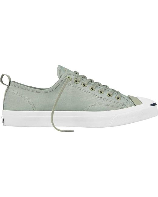 c57a47c3b350fa Converse - Green Jack Purcell Jack Ox Micro Ripstop Sneaker for Men - Lyst  ...