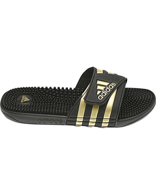 33ebb32f3ce2 Adidas - Black Adissage for Men - Lyst ...