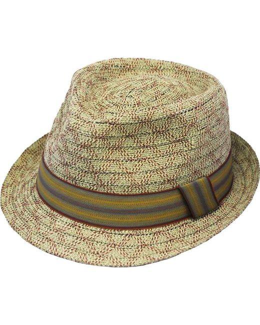 Henschel - Red Fedora 3712 Hat - Lyst