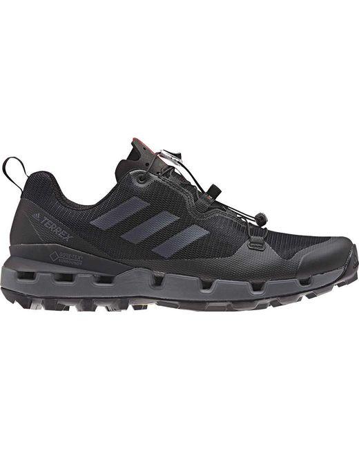 Lyst adidas terrex veloce gore texhiking scarpa in nero per gli uomini.