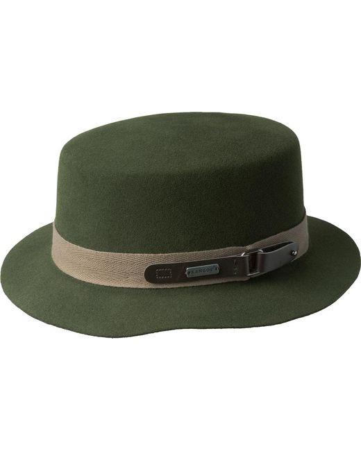 Lyst - Kangol Buckle Boater Bucket Hat in Green for Men b08c61452b4