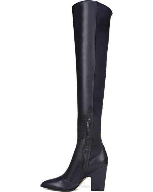 6114ccda17be Lyst - Sam Edelman Natasha Over The Knee Boot in Blue - Save 7%