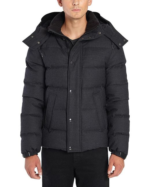 Mackage - Gray Zaire Down And Wool Jacket for Men - Lyst