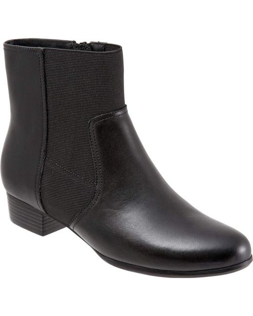 Trotters - Black Monte Ankle Boot - Lyst