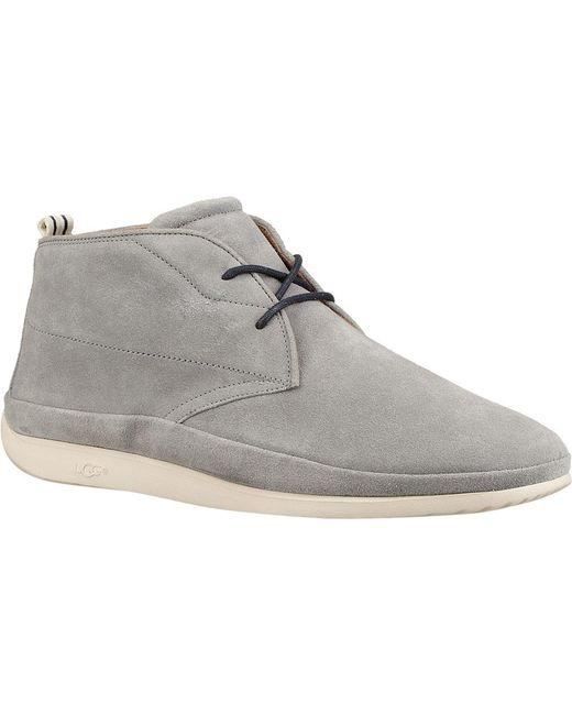 Ugg - Gray Cali Chukka Sneaker for Men - Lyst