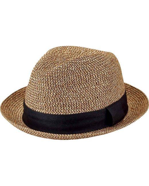 f06c6d73faa Lyst - San Diego Hat Company Ultrabraid Fedora Ubf1017 in Black for Men
