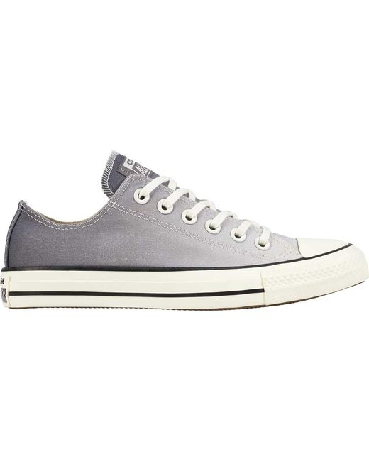 131436e238d642 Converse - Gray Chuck Taylor All Star Low Sneaker - Lyst ...