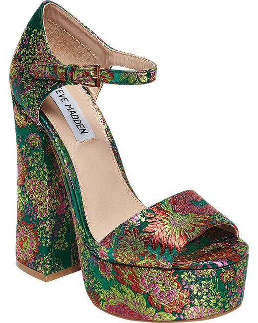 Steve Madden - Multicolor Bonita Platform Sandal - Lyst