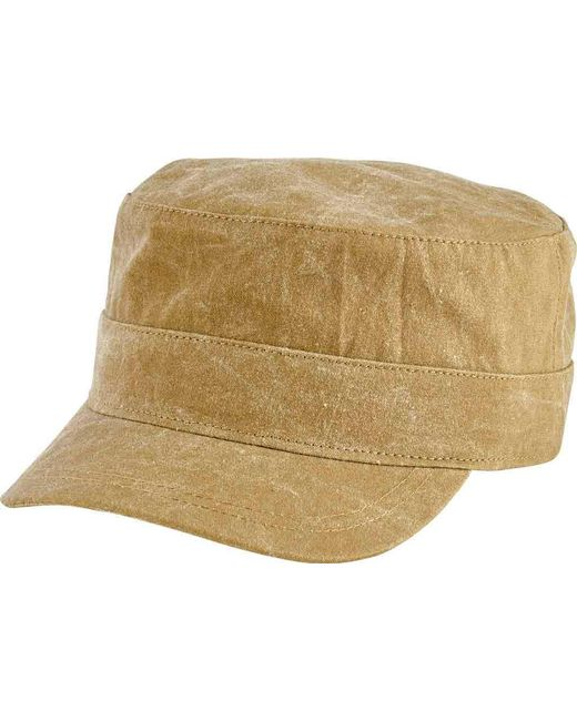 San Diego Hat Company - Green Textured Cotton Military Cap Cth8061 for Men  - Lyst 291dd41ac8a0
