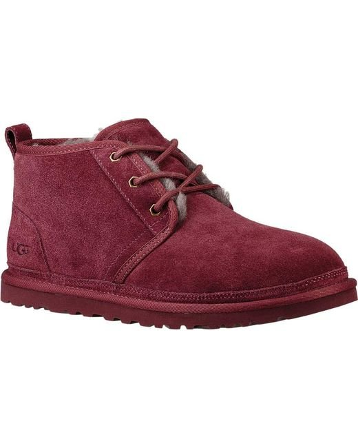red ugg boots for men