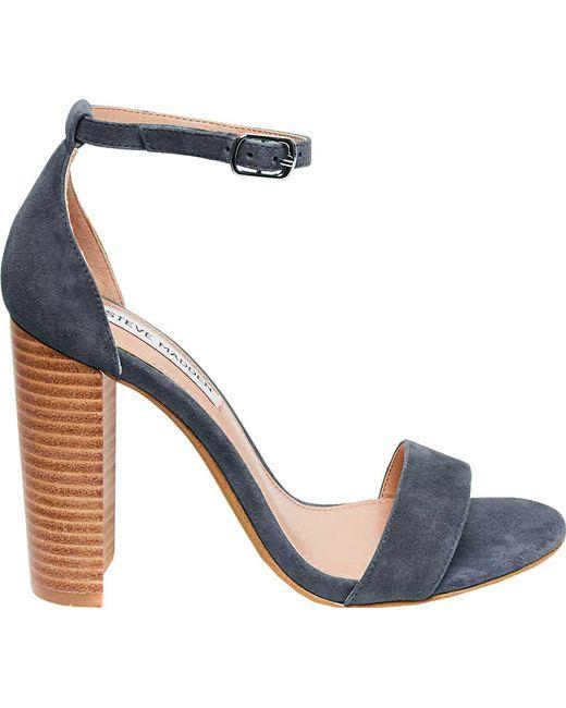 6630ab93ee803 Lyst - Steve Madden Carrson Heeled Sandal in Blue - Save 73%