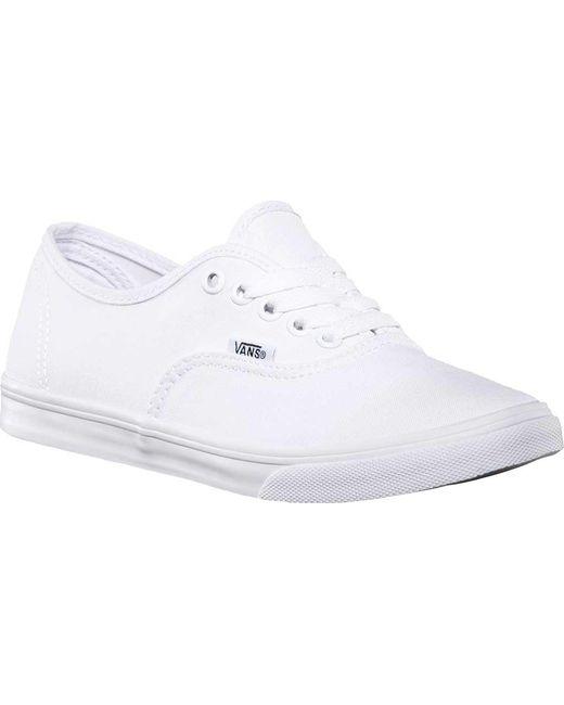 Vans - White Authentic Lo Pro Sneaker for Men - Lyst ...