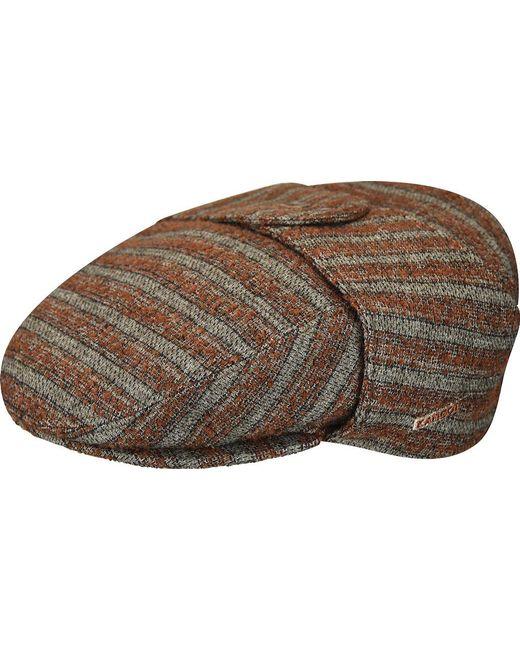 2fa42023 Lyst - Kangol Tweed Bugatti Scally Cap in Brown for Men