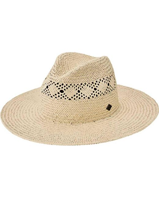 San Diego Hat Company - Natural Paper Detailed Inset Fedora Sdh3317 for Men  - Lyst e091aa7c682b