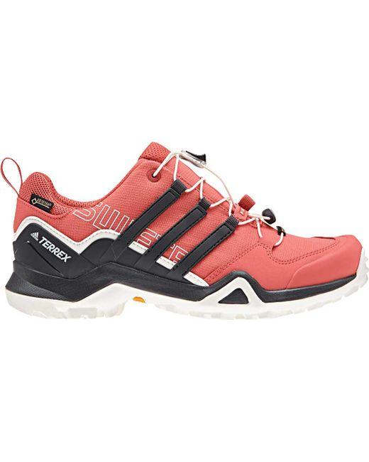lyst adidas terrex swift r2 gore - tex scarpa in bianco.