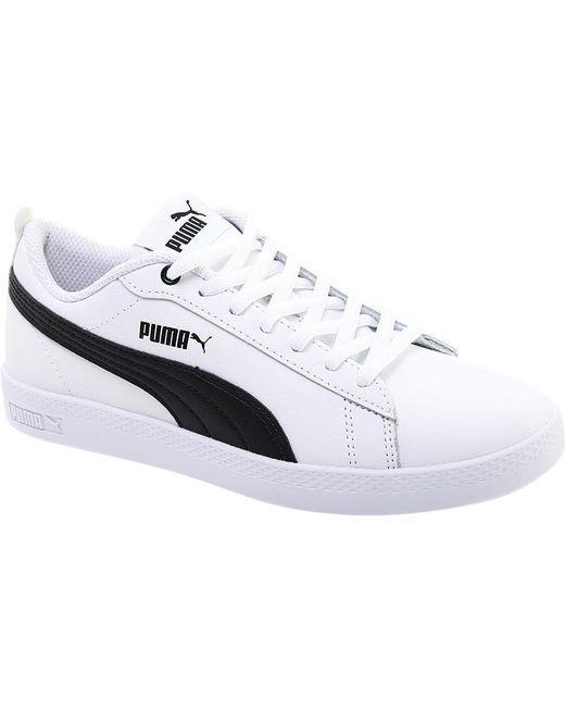 b9621a6c74de82 PUMA - White Smash V2 L Sneaker - Lyst ...