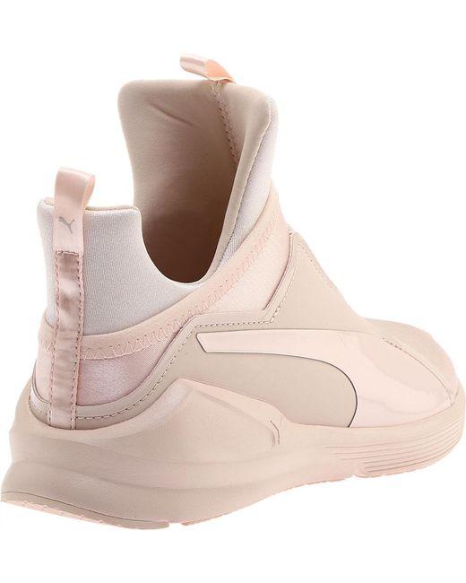 ... PUMA - Pink Fierce Satin Ep Trainer - Lyst ... 474b14f06