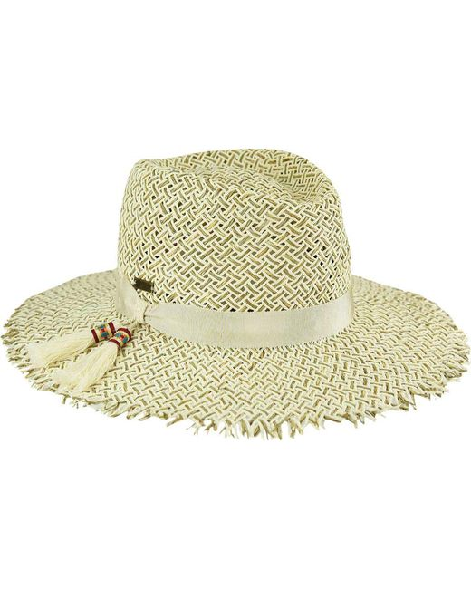 671080ac411 Lyst - Betmar Monterey Fedora in Natural
