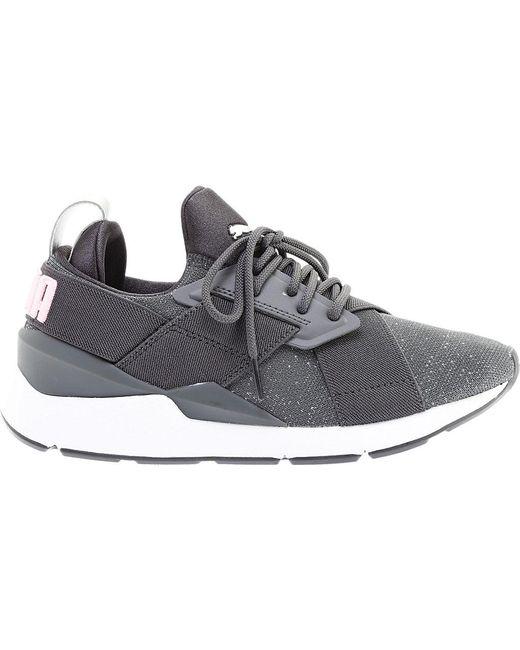 117bf023fa11 ... PUMA - Gray Muse Speckled Sneaker - Lyst ...