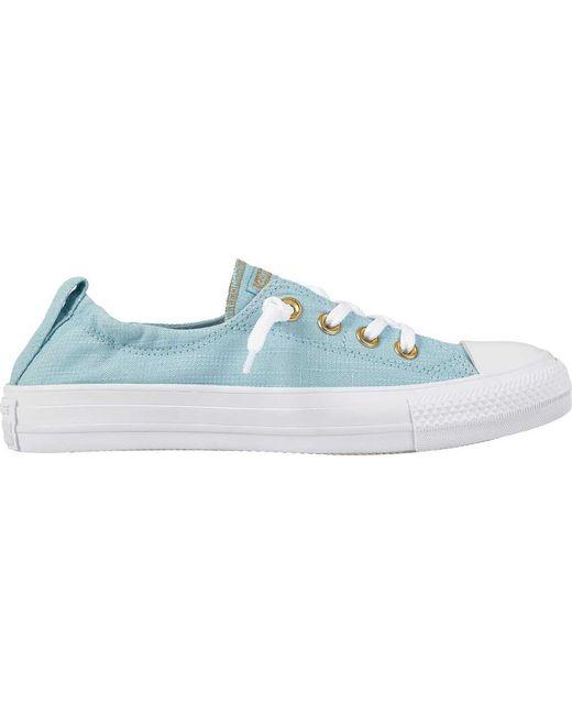 aec32eebcd91ee Converse - Blue Chuck Taylor All Star Shoreline Sneaker - Lyst ...