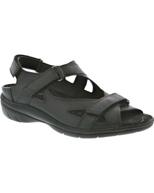 6c64600e98f Lyst - Drew Lagoon Hook And Loop Sandal in Black for Men