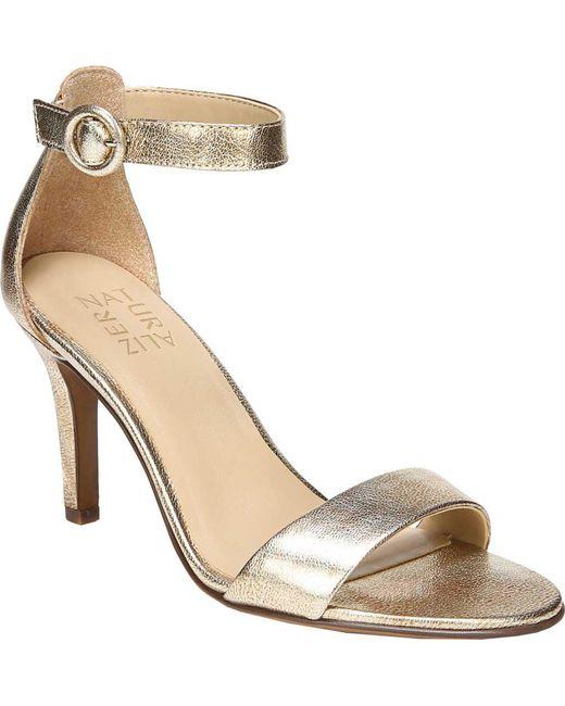Naturalizer Kinsley Papaya Print Ankle Strap Dress Sandals tEx5w9xu
