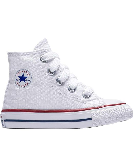 Converse - White Chuck Taylor All Star High Top Sneaker for Men - Lyst ... 7af83d8dd