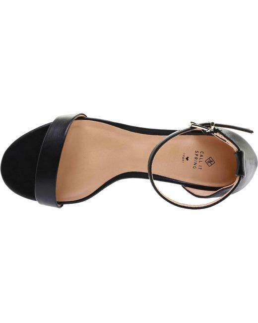 6927ba8fb2a00 ... Call It Spring - Black Mynah Ankle Strap Sandal - Lyst ...