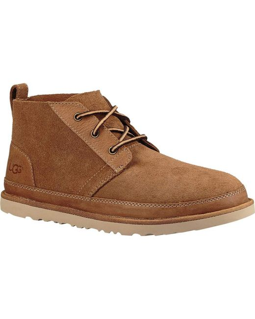 Lyst Ugg Neumel Unlined Leather Chukka Boot In Brown For Men