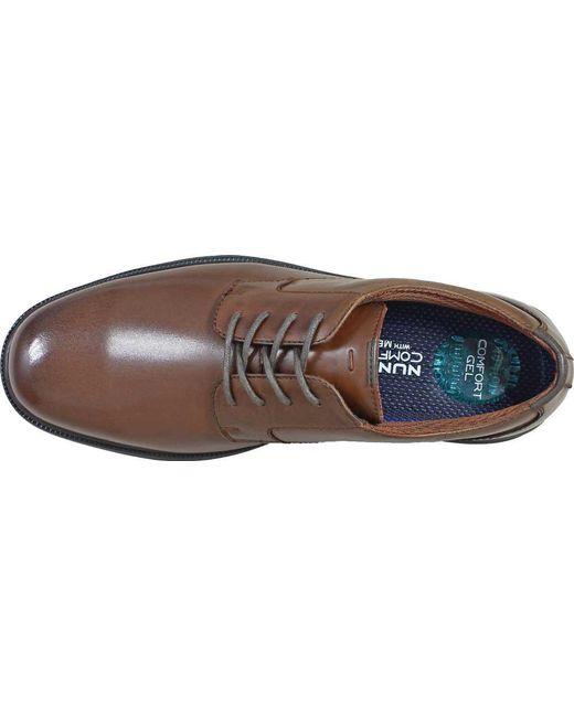 67d90ac2a ... Nunn Bush - Brown Marvin Street Plain Toe Oxford for Men - Lyst ...