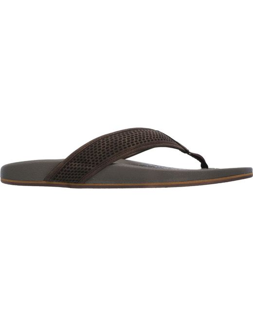 2e34115499d3 ... Skechers - Brown Relaxed Fit Pelem Emiro Flip-flop for Men - Lyst ...
