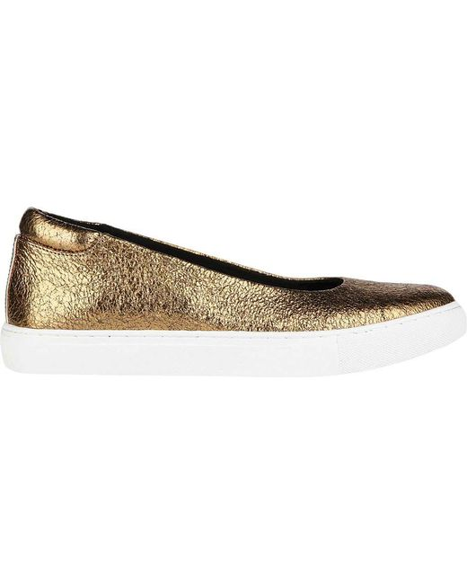 Clearance Cheap Real Kenneth Cole New York Kassie Skimmer(Women's) -White Stud Leather Geniue Stockist For Sale For Nice irCHv