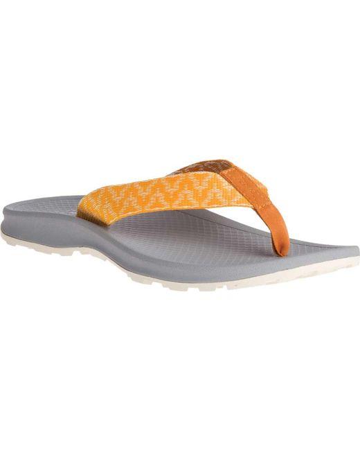 8ed52401141d Chaco - Gray Playa Pro Web Vegan Flip Flop - Lyst ...