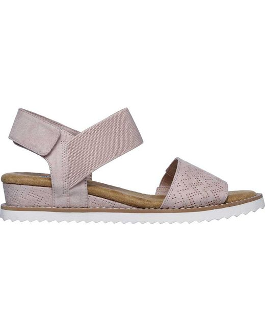 28702509f3d Lyst - Skechers Bobs Desert Kiss in Pink - Save 17%