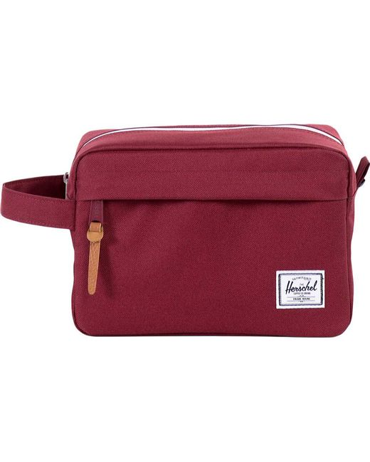 Herschel Supply Co. - Red Chapter Travel Kit - Lyst