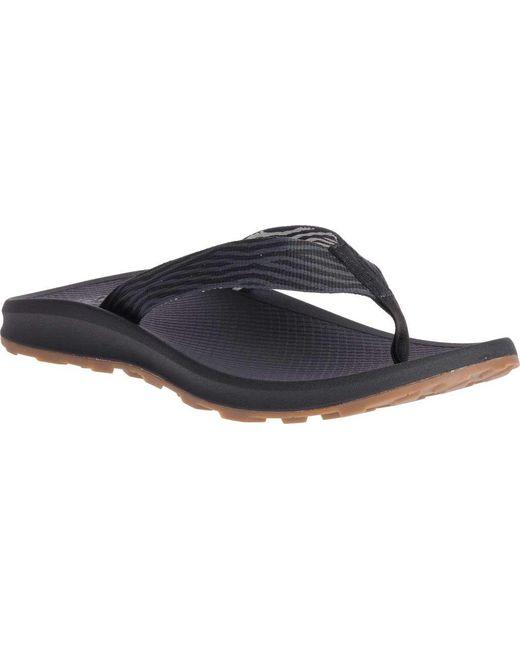 79240af0c3402 Chaco - Black Playa Pro Web Vegan Flip Flop for Men - Lyst ...