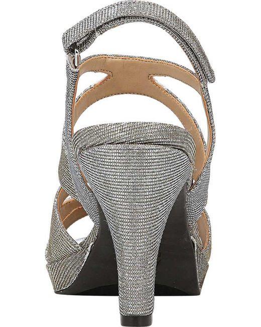 4dd5c5594c18 Lyst - Naturalizer Pressley Sandals in Metallic - Save 67%