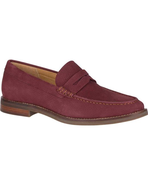Sperry Top-Sider - Red Gold Exeter Penny Loafer (amaretto Leather) Men's Shoes for Men - Lyst