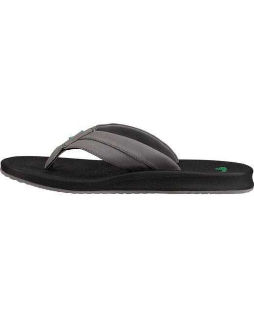 Sanuk Brumeister Thong Sandal(Men's) -Brown Synthetic Clearance Brand New Unisex Krkp3