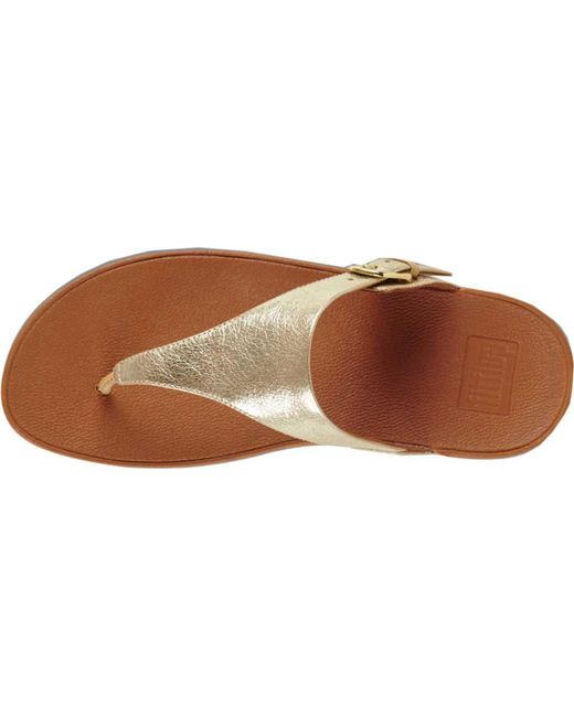 a6b38b80e9735f ... Fitflop - Multicolor The Skinny Thong Sandal - Lyst