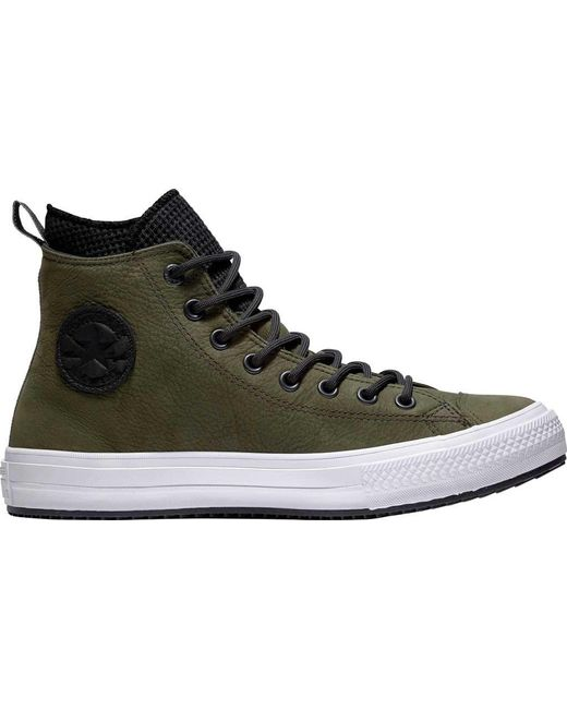 dc2248630403 Converse - Green Chuck Taylor All Star Wp Utility Draft Boot for Men - Lyst  ...