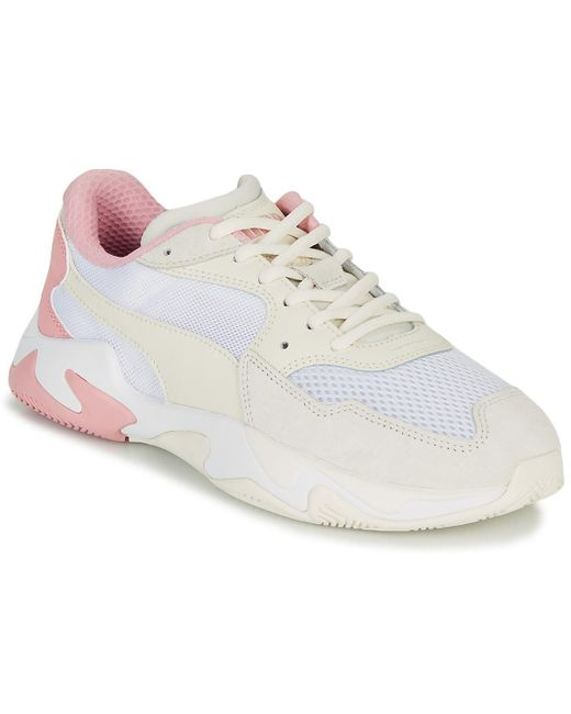 Baskets Daim PUMA pour homme en coloris Blanc - 30 % de réduction ...