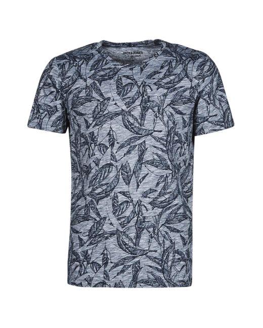 T-shirt Jack & Jones pour homme en coloris Blue