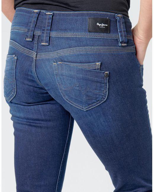 Pepe Jeans Jeans femme de coloris bleu