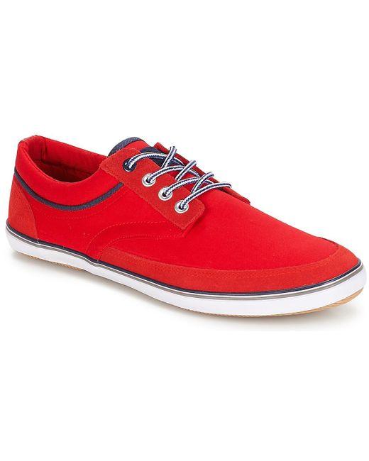 Baskets André pour homme en coloris Red