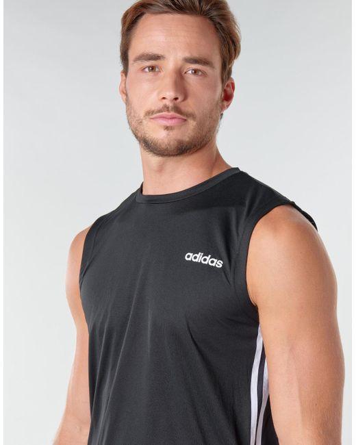 Debardeur adidas pour homme en coloris Noir - Lyst